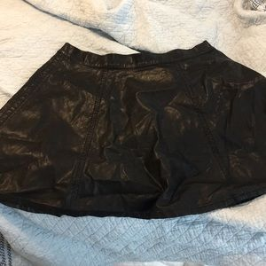 Forever21 Plus faux leather skirt